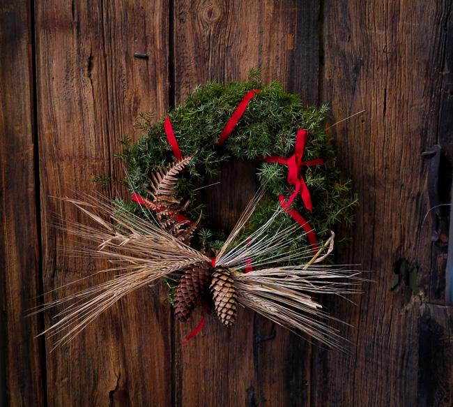 8 December, Julkrans på Ljuserö